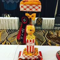 Freak Show Cake