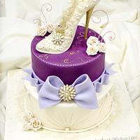 Lady Shoe Cake