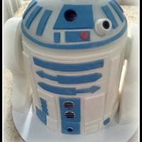 Star Wars R2D2 cake/cupcakes