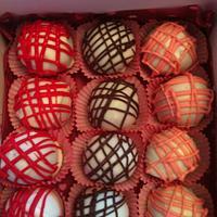 red velvet cake truffles by Jen Scott