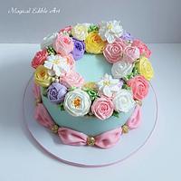 Butter cream cake