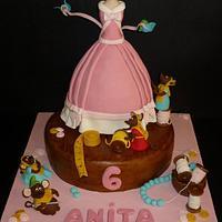 Cindarella cake by Tatiana Melfa