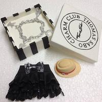Fashion Themed Edible Cake Toppers