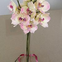 An orchid bouquet