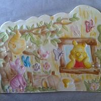 winnie the pooh nel quadro