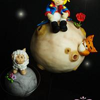 Le Petit Prince  by Ylenia Ionta - SweetArt Cake Design