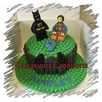 lego cake for a lego fan