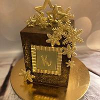 Winter goldcake
