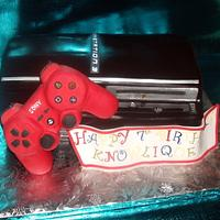 Playstation # Cake