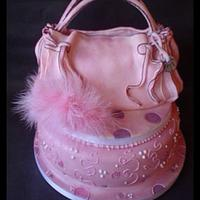 Handbag cake by Alisonarty