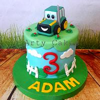 Tractor cake by Arty cakes