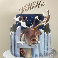 Henry the Christmas 3D reindeer