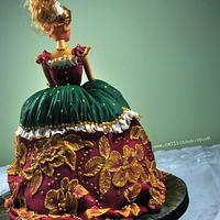 Baroque Princess Cake by Calli Creations