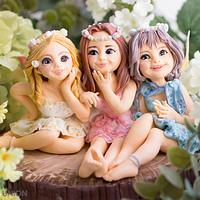 Away with the Fairies for the Irish Sugarcraft Show 2016