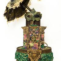 Masquerade Steampunk Cake