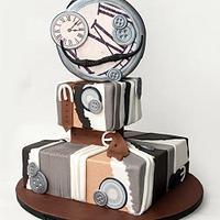 Masculino - Avant Garde cake collaboration