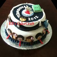 Farewell Theme Cake