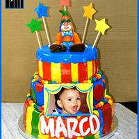 THE MARCO CARNIVAL BIRTHDAY CAKE