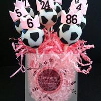 Soccer princess pops