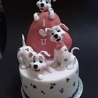 Dalmation cake