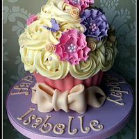 Pretty Giant Cupcake