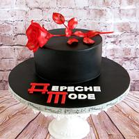 Depeche mode cake.