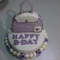 My Purse Cake ^_^ by maria vilma a. coronado