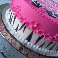 Hot pink Zebra combo
