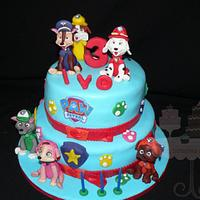 Pawpatrol cake
