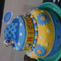 BAPTISMAL CAKE FOR MICO