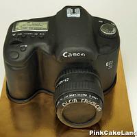Canon Camera 3D Cake