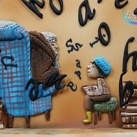 """""""Swinging Christmas"""" Benjamin Lacombe - Primavera de Libro Colaboration by Floren Bastante / Dulces el inflón"""