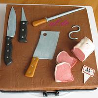 Butcher's cake