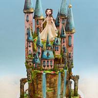 Princess Tara And Her Castle Cake