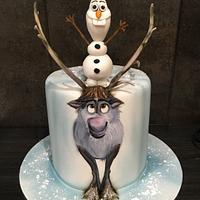 Frozen Olaf and Sven