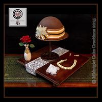 Downton Abbey Cake  - Lady Mary's Hat