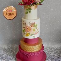 My CI wedding cake entry