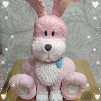 Ružový zajko