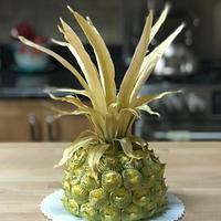 Pineapple Cake Topper