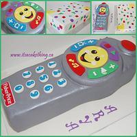 Remote Control Toy Replica Cake