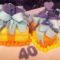 Present cake :0)
