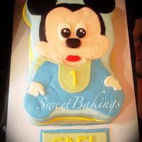 Baby Mickey <3
