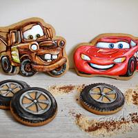 Mater and McQueen