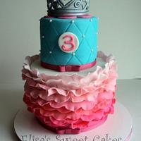 Princess Ruffles Birthday girl