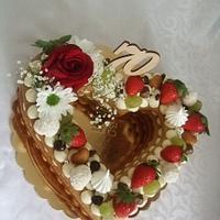 Tart cake
