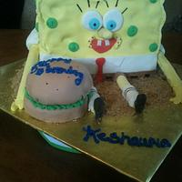 spongebob  by tasteeconfections