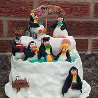Penguin pool party