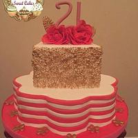 21st bd cake
