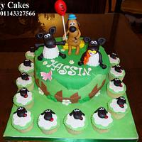 Shoun z sheep cake