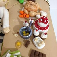 Kitchen Cake by Shereen